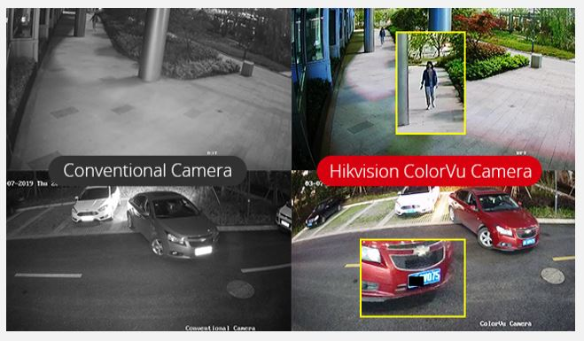 28th January 2020 – Hikvision – ColorVu Technology