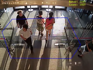 Smart Network Camera - People Counting