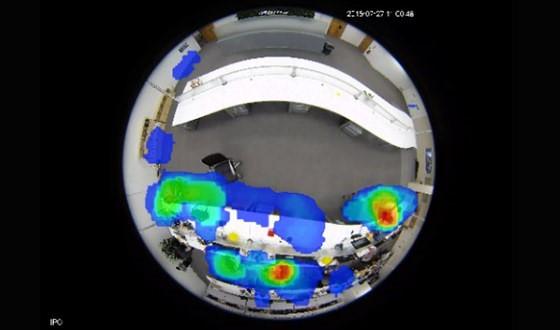 Smart Network Camera - Heat Map